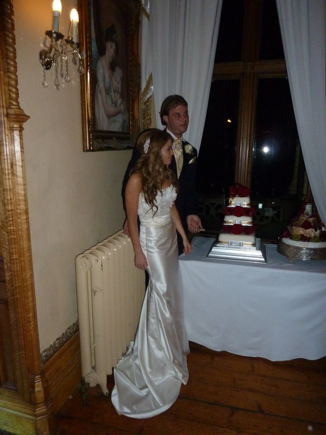 fitted wedding skirt